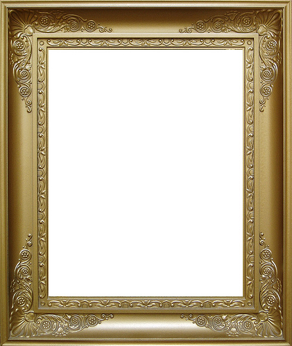 Gold Frame Borders